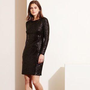 Lauren Ralph Lauren dress black shine